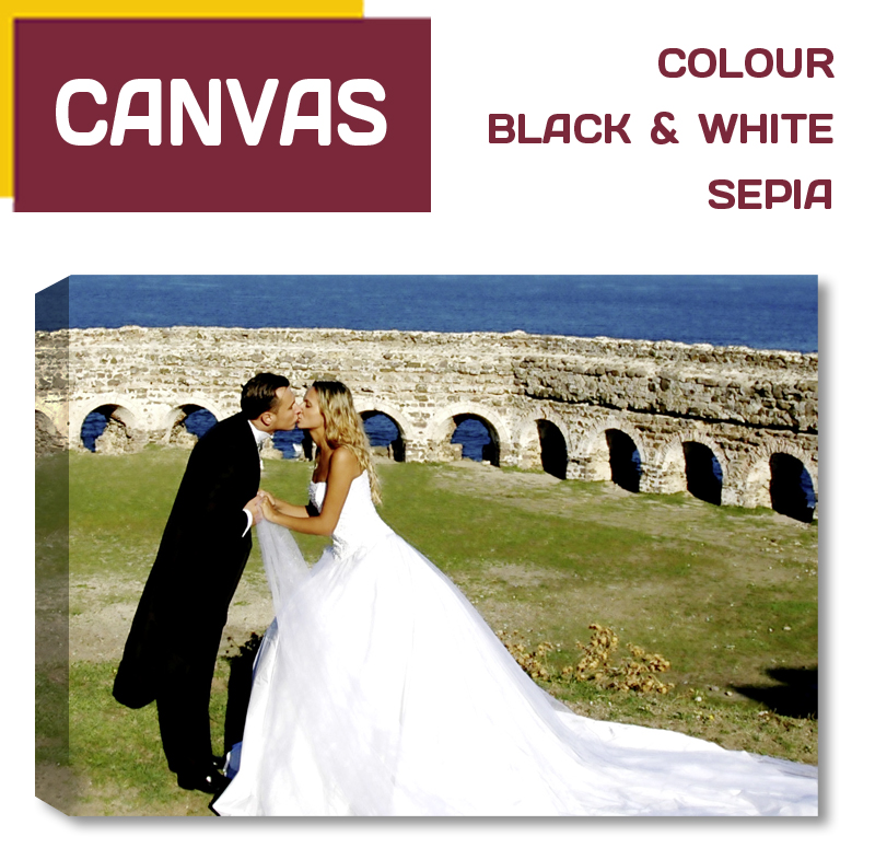 Dublin CANVAS Photo Prints. Pictorium Photoshop Monkstown Dublin. Specialists in Canvas Printing. Over 50 sizes Delivered Nationwide. Dublin Photo Printing