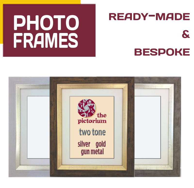 "PHOTO FRAMES at Pictorium Photoshop Monkstown Dublin. From small ready made frames 6""x4"" to custom made frames 6ft x 4ft! Ready made and Bespoke Custom Sizes. Photo Printing. Print and Frame. Photos from Facebook • Mobile Phone • USB • Laptop • iPad • Camera • Hard Copy • Slide • Neg"