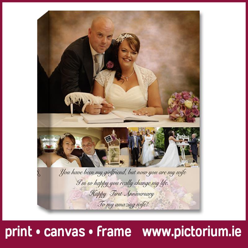 Wedding Anniversary Photo Collage The Pictorium Dublin Photo
