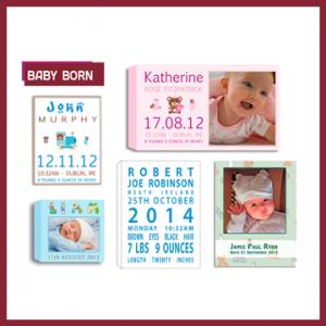 PHOTO COLLAGES Baby Born & Nursery Art