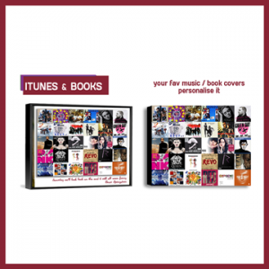 PHOTO COLLAGES iTunes & Book Covers