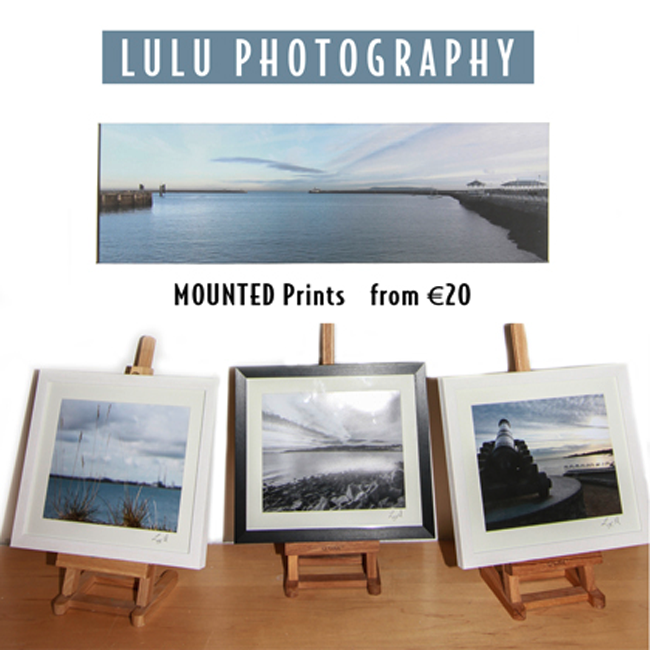 Lulu Landscape Photographs for Sale. Lulu Photography at The Pictorium Monkstown Dublin. New Baby, Christeneing, Communion, Family Wedding Birthday Anniversary Events.