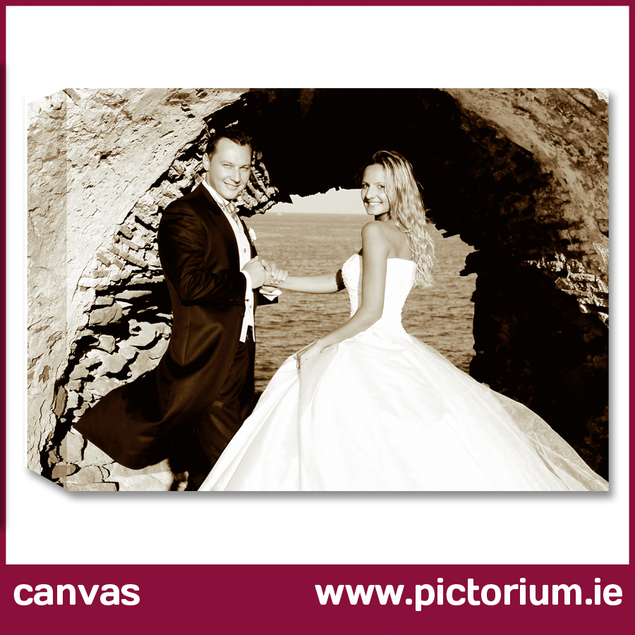 Wedding Anniversary Gift Canvas Frame The Pictorium Dublin Photo