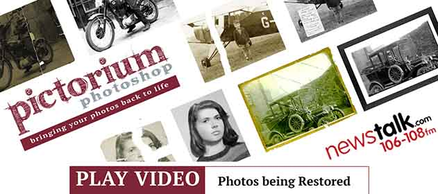 Bobby Kerr's... Down to Business Industry Review Photo Printing – Newstalk Sharon Slowey of Pictorium Photoshop talks about the business of Restoring & Retouching Old & New Photos, Photo Collages & her Photo Printing Services
